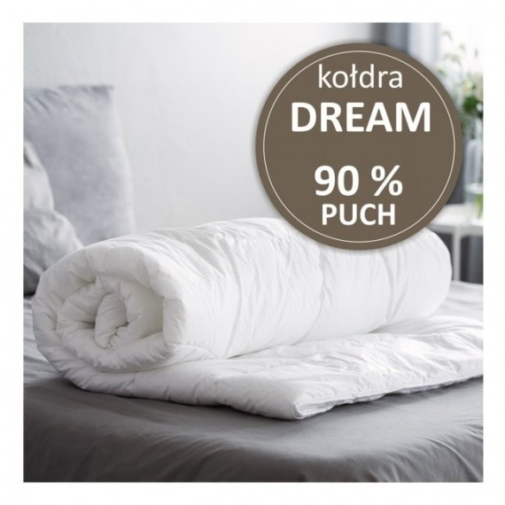 Kołdra DREAM -90 % puch gęsi