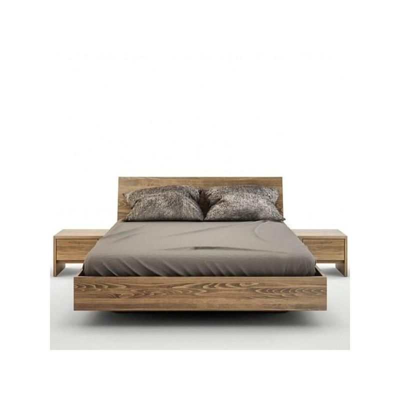 łóżko Bukowe 140x200 Z Pojemnikiem Baletto Futonpl