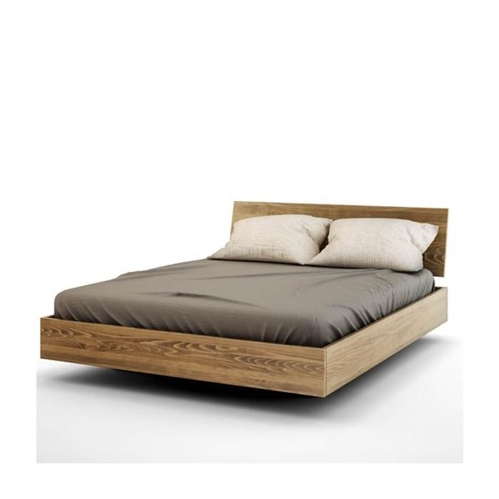 łóżko Bukowe 140x200 Z Pojemnikiem Baletto