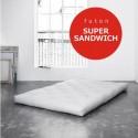 Futon Super Sandwich- twardy, przewiewny i sprężysty futon 120x200