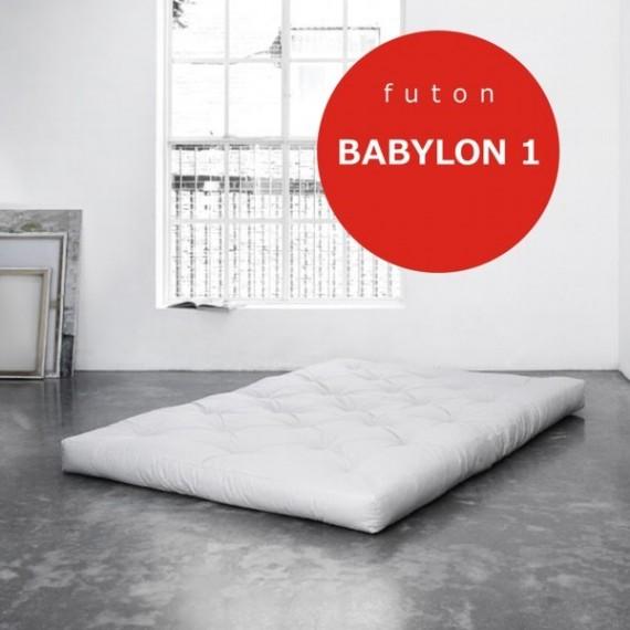 Futon Babylon 1 supertwardy, z kokosem 90x200