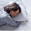 Poduszka z ekologiczną łuską gryki 40x40 cm