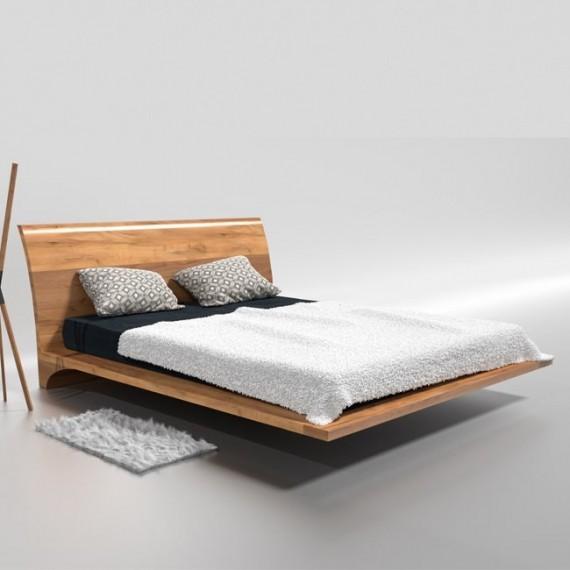 Łóżko drewnane 140x200 RAY