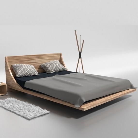 Łóżko drewnane 140x200 russ