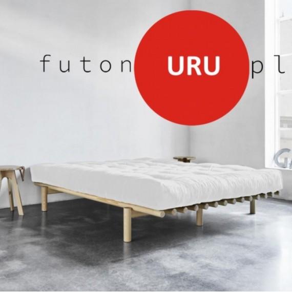 Futon Uru - średniotwardy, ciepły, wełniany futon 120x200