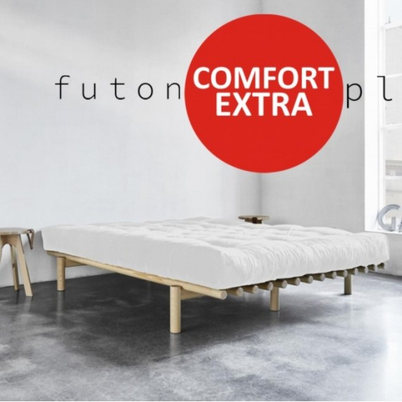 Futon Comfort Extra średniotwardy i sprężysty z końskim włosiem 180x200